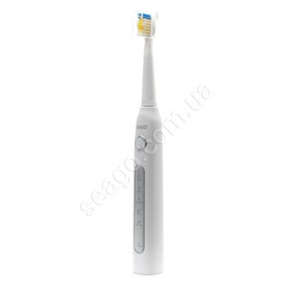 Електрична звукова зубна щітка Seago Sonic SG507, Білий (KRU-101005033)