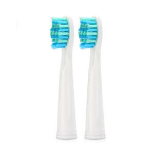 Насадки для електричної зубної щітки Seago 010-8, 2шт, White (K1010050225)