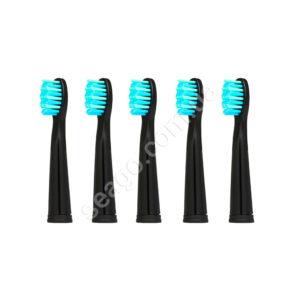 Насадки для електричної зубної щітки Seago SG-899, Black