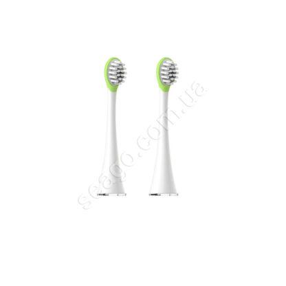Насадки для дитячої зубної щітки Seago SG-850, 2шт, Green (K1010050313)