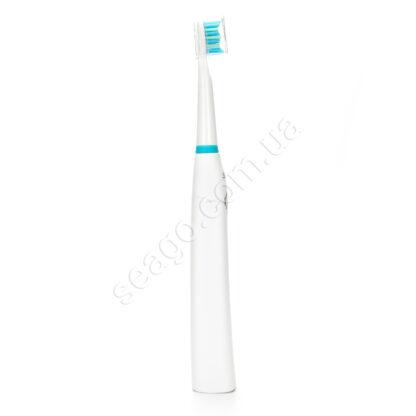 Набір звукових зубних щіток Seago SG-958 з кейсами, White-Black
